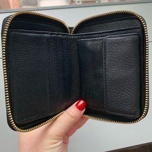Michael Kors Bags - Michael Kors Wallet (Black and Gold)
